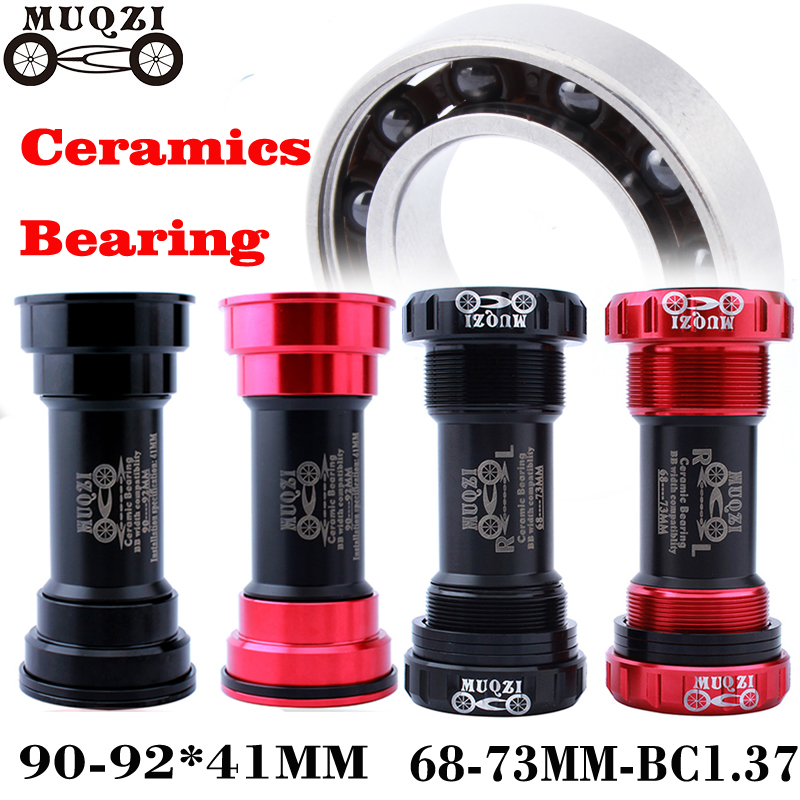 Bicycle Bike Ceramic Peilin Axis Bottom Bracket Bicycle Press Fit BB Screw/Thread Type Bottom Bracket BB Bike Tooth Plate Axis