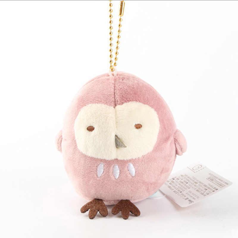 7 سنتيمتر Sumikko Gurashi ألعاب من نسيج مخملي قليلا قلادة Peluche الحيوانات المحشوة ألعاب الدمى الاطفال هدية juguداعي المفاتيح حلقة رئيسية شنق قلادة