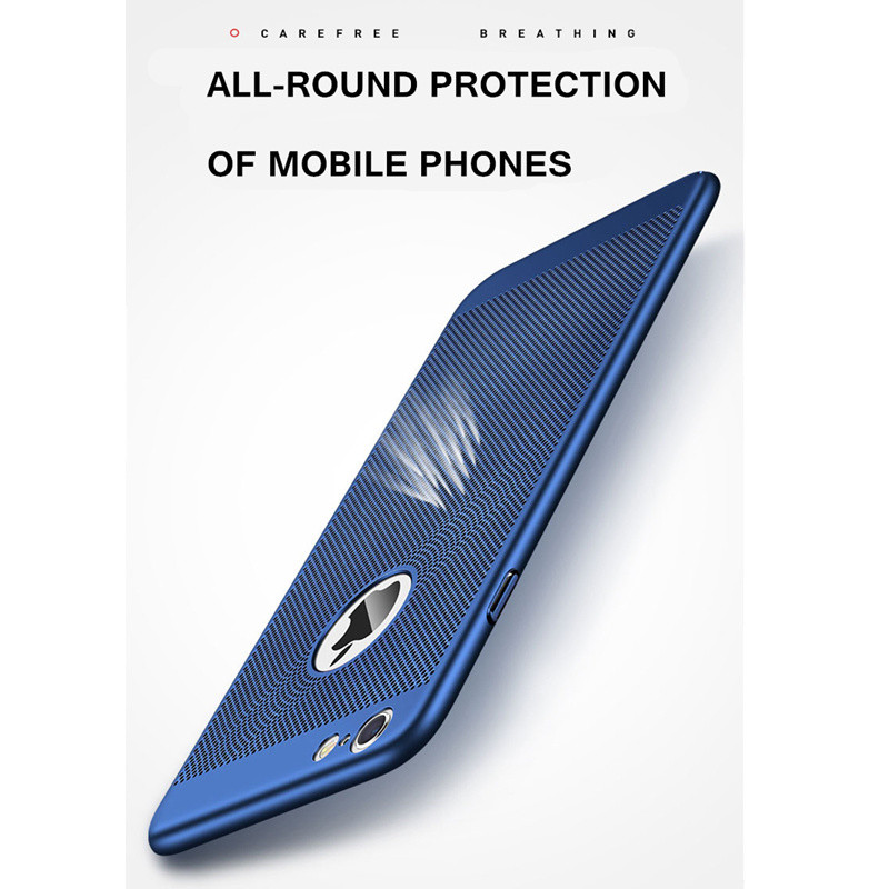 Heat dissipation phone Case For iPhone X, 6 6s plus, 8, 8 plus, 7 Plus, Cover Hard Back PC Protect Shell 2