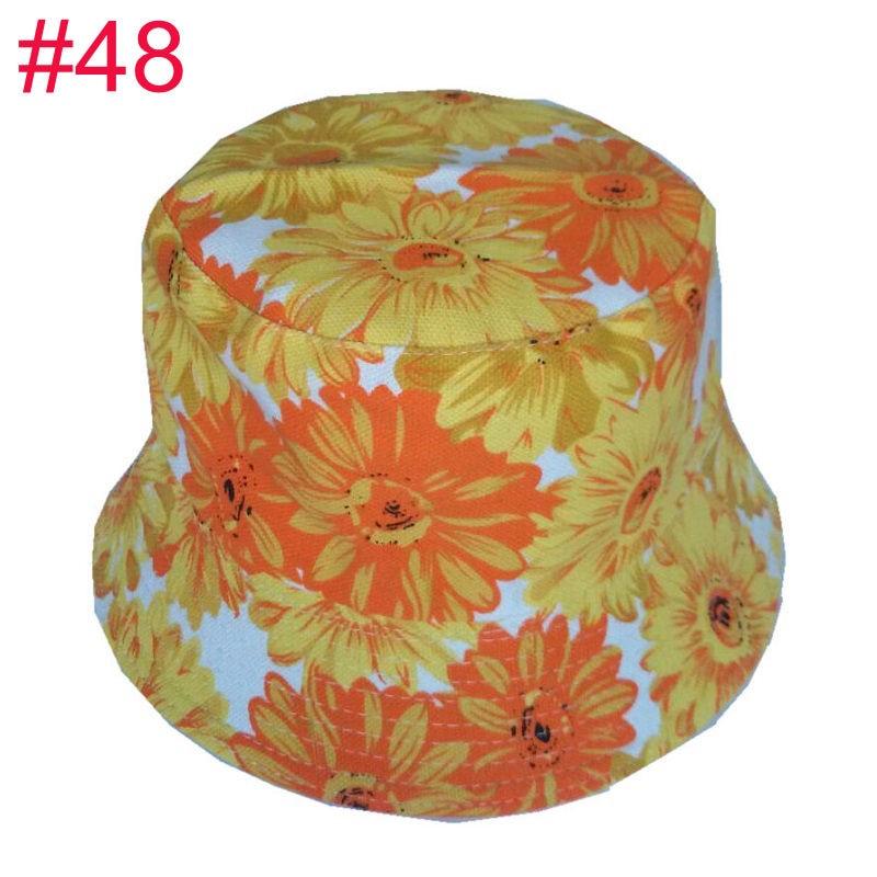 fbf91255190 Aliexpress.com   Buy Bnaturalwell Kids Summer Hat Bucket Style Printing Sun  Hat Accessories For Girls Boys Children Bucket Cap Panama Reversible H391  from ...