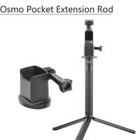 Portable Base Adapter Extended Rod Extension Stick for DJI Osmo Pocket Metal Tripod Handheld Gimbal Stabilizer Accessories Parts