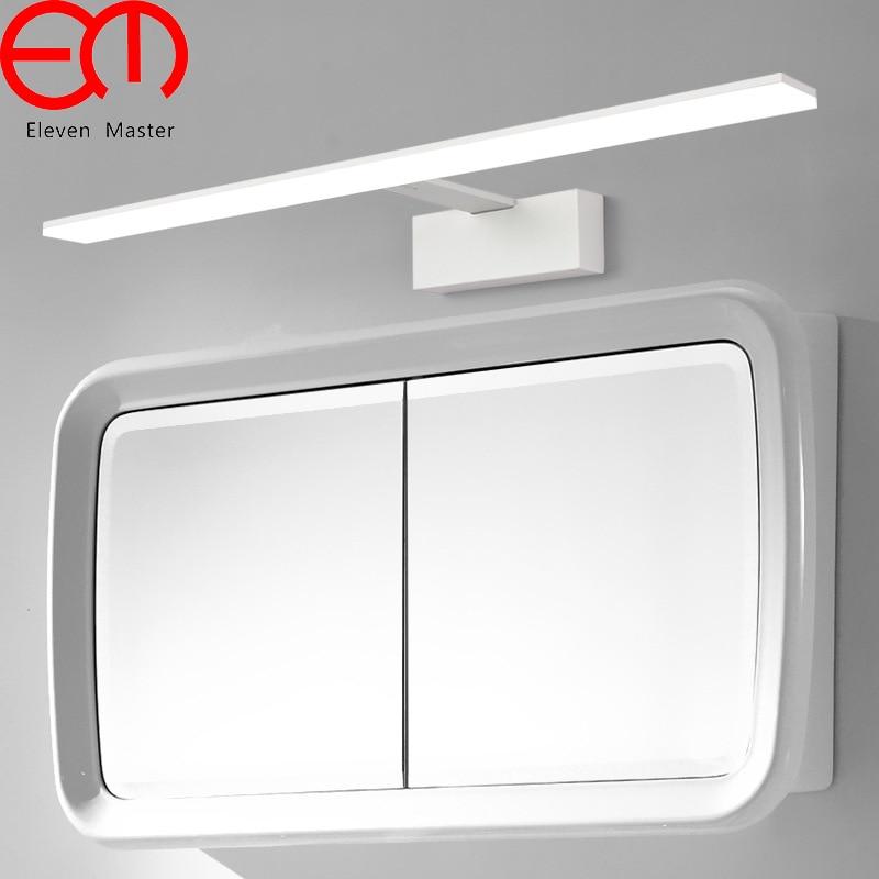 White Mirror light bathroom led mirror lamp wall light Water proof fog brief Nordic dressing make up lamp wall lamp KML0026