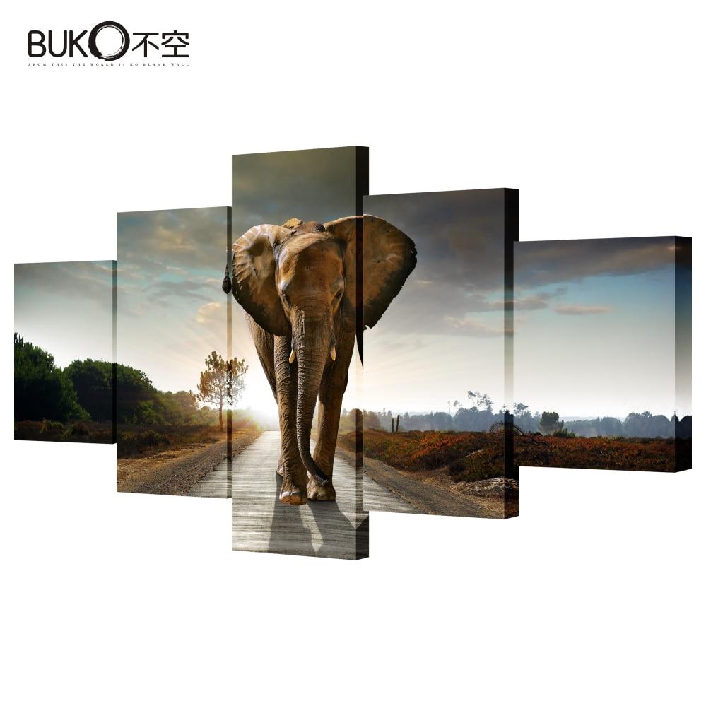 Online kopen Wholesale canvas olifant uit China canvas olifant ...