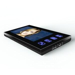 """Image 2 - 7 """"TFT wideodomofon domofon z IR CUT kamera na podczerwień HD 1000 linia telewizyjna Night Vision Security kamera telewizji przemysłowej"""