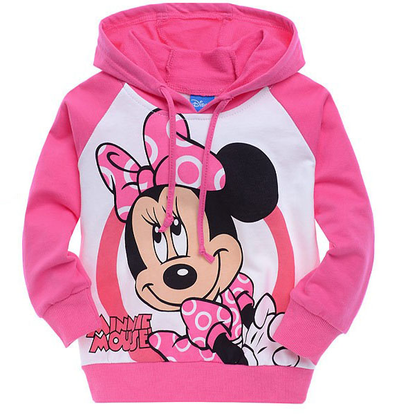 kids Cartoon Wei coat sweater Spring and Autumn paragraph sleeved hoodies 100% cotton girls clothes boys clothes