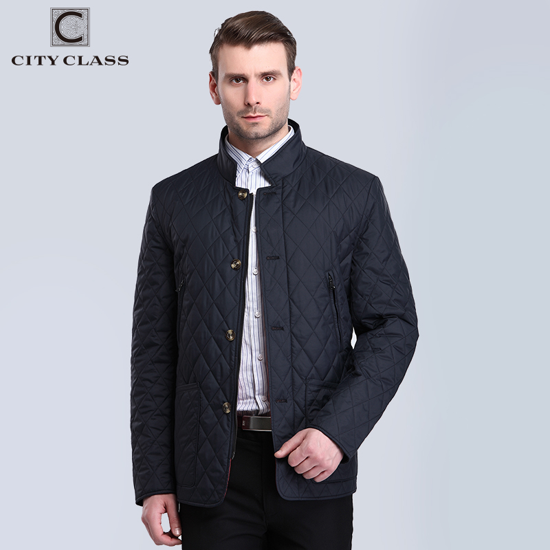 CITY CLASS New Mens Autumn Jackets And Coat Fashion Casual Slim Fit - Men's Clothing