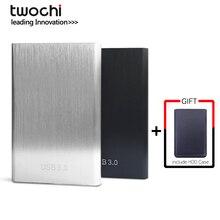 Twochi HDD 2,5 ''внешний жесткий диск USB3.0 1 ТБ 750GB 500GB 320GB 250GB 160GB 120GB 80GB Портативный жесткий диск для ПК/Mac