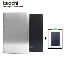 "twochi HDD 2.5"" External Hard Drive USB3.0 1TB 750GB 500GB 320GB 250GB 160GB 120GB 80GB Storage Portable Hard Disk for PC/Mac"