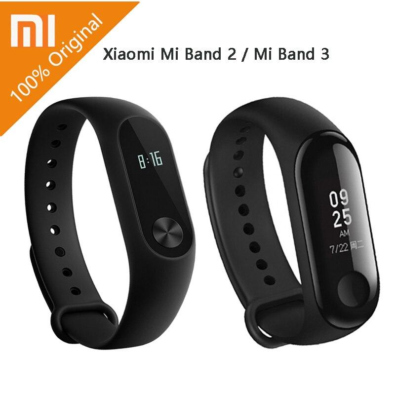 Original Xiaomi Mi Band 2 / mi band 3 With OLED display touchpad Smart heart rate Fitness Bluetooth Wristband Bracelet цены онлайн