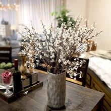 5pcs/lot Vivid christmas flowers berries Grass plants artificial flower wedding home Christmas decor party office