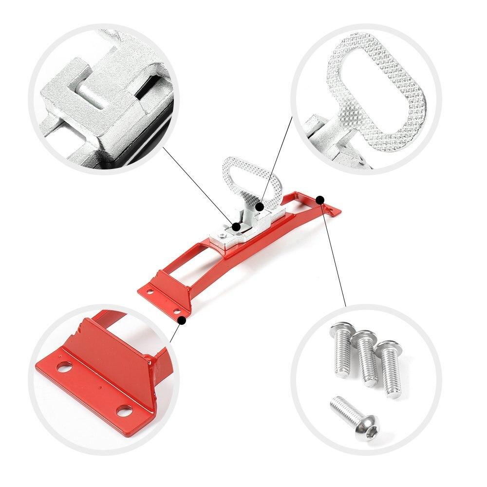 Дверные петли для автомобиля, педаль для ног, стальная дверная педаль для Jeep JK Wrangler & Unlimited 2007-2018