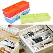 Белый ящик для хранения, регулируемый ящик для стола, органайзер, разделитель, держатель для канцелярских принадлежностей