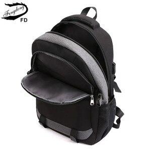 Image 5 - Fengdong duże szkolne torby dla nastolatków chłopcy wodoodporny duży szkolny plecak usb charge boy torba z paskiem do zawieszenia na piersi zestaw pasek odblaskowy