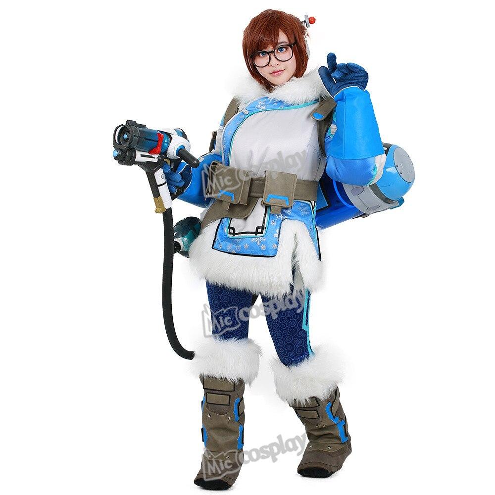 Женский костюм для косплея Мэй Линь Чжоу, зимний топ и штаны