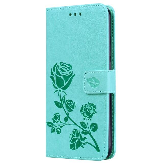 حقيبة لهاتف xiaomi Redmi ملاحظة 7 الوجه PU بظهر جلدي غطاء حالة ل Redmi Note7 محفظة الهاتف الذكي حقيبة كوكه فوندا