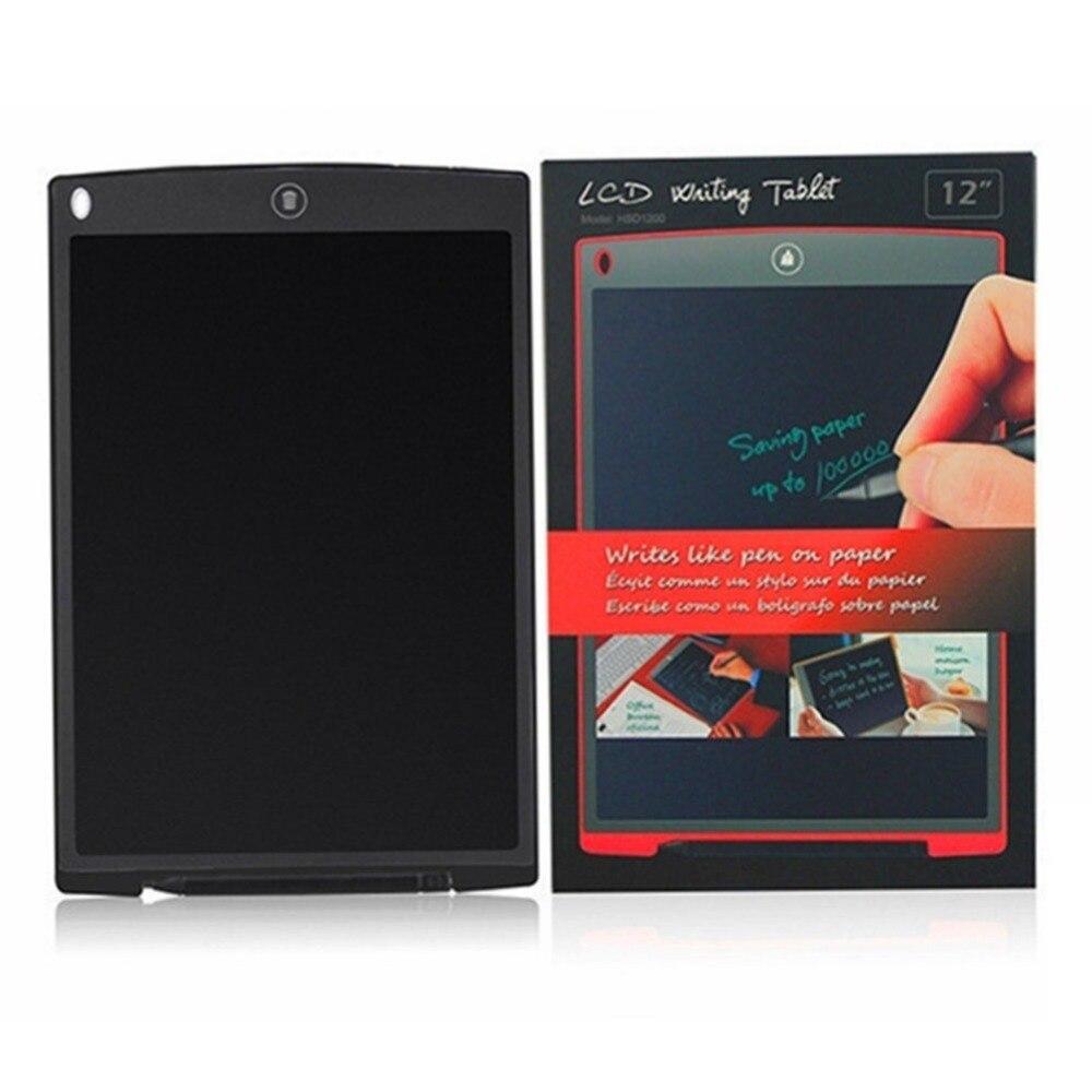 ЖК-планшет для письма 12 дюймов цифровой чертежный электронный блокнот для рукописного ввода доска для записей детская письменная доска подарки для детей
