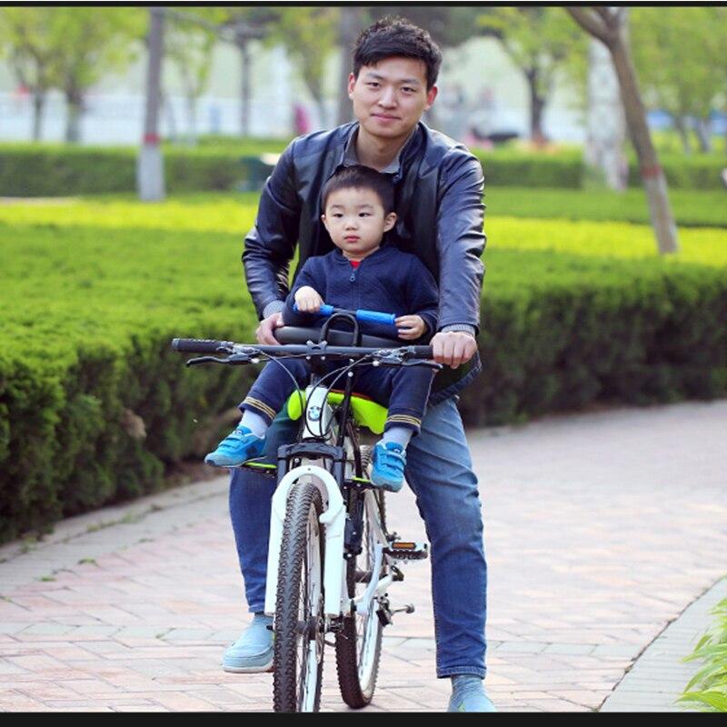 Venta caliente 2018 nueva bicicleta de carretera de montaña asiento de seguridad para niños silla frontal de bicicleta para niños adecuada para 0-6 años bebé - 4