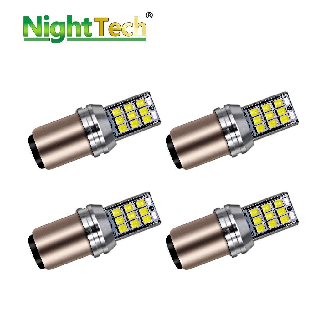 Acheter NightTech 10 Pcs 1156 BA15S LED P21W LED BAY15D 1157 voiture Clignotants Sauvegarde Feu de recul De Frein Ampoules 12 V Haute Puissance Automobile de Signal Lampe fiable fournisseurs