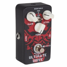 JOYO JF-02 High / Low Tone Switch Ultimate Drive Guitar Effects with True Bypass Wiring and Different Sounds