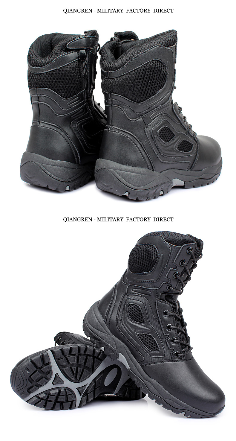 Work & Safety Boots Men's Boots Brave Mens Steel Toe Cap Work Safety Shoe Genuine Leather Casual Anti-kick Footwear Outdoor Puncture Proof Boot Size 35---45 Clients First