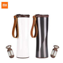Xiaomi Coffee Tumbler Thermo Jug Moka Smart Cup OLED Touch Temperature Display 430ml Portable Stainless Steel Coffee cup - DISCOUNT ITEM  45% OFF All Category
