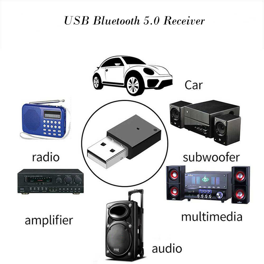 USB Bluetooth Adapter Dongle Aux Audio Bluetooth 4.0 4.2 5.0 Luidspreker Muziek Ontvanger Voor Auto Radio Versterker Multimedia
