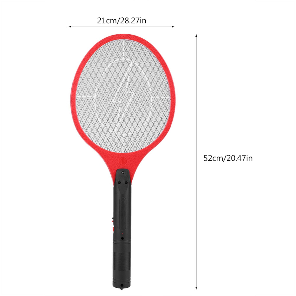 Rechargeable Electric Fly Mosquito Swatter Bug Zapper Racket Insects Bug  Bat Wasp Zapper Fly Mosquito Killer