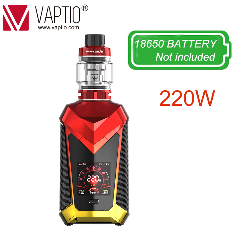 Electronic Cigarette Vape 220W Vaptio SUPER CAPE 8.0/2.0ml Vape Tank Atomizer 510 thread 810 drip tip suitable vaporizer