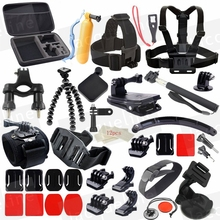 JACQUELINE for Accessories Set Mount Bundle Accessory Kit for Gopro hero HD 5 4/3/2/1 SJ4000 SJ5000 SJ6000 H9R H9 H9SE