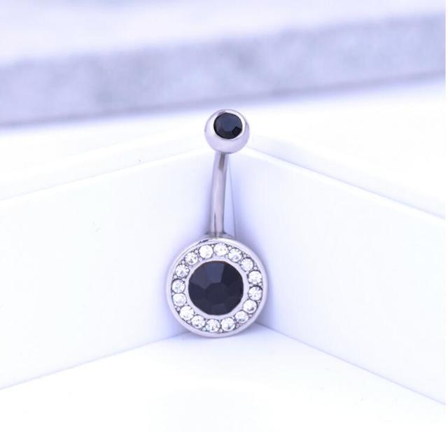 2016 Thời Trang mới Zircon Nhẫn Belly Button Body Piercing Navel Sexy Đồ Trang Sức Phụ Nữ Bijou Pircing Hot Bán Bán Buôn