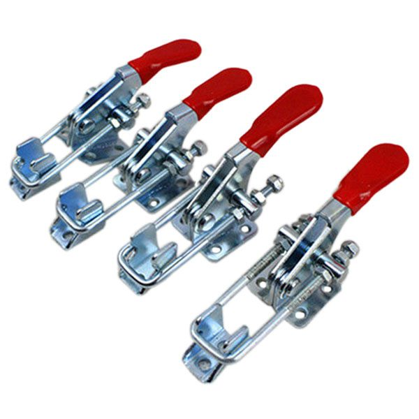EWS-4PCS Hand Tool Metal Holding Capacity Latch Type Toggle Clamp GH-40323 360lb