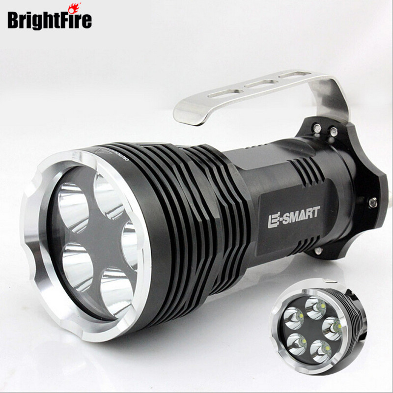 F41 5 XML-T6 the best Portable Lights LED Flashlight in the world Super strong Lumens lanterna lantern 5 modes 4 x 18650 battery hot xlightfire 30000 lumens 12 x xml t6 5 mode led flashlight 3 x 18650 battery free shipping nn01