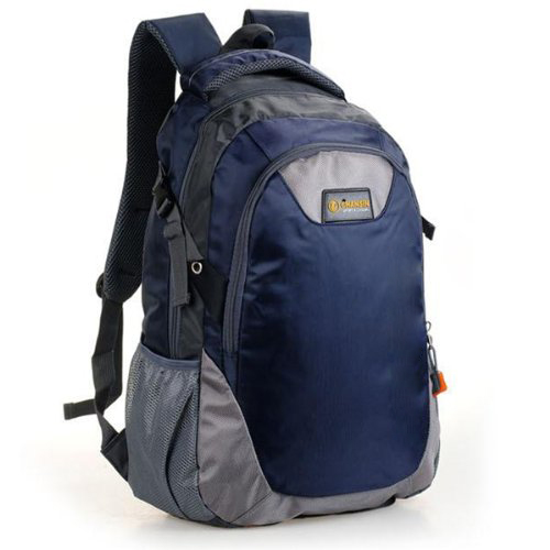 Nylon Travel man backpack Dark Blue navy shoulder bags Men unisex NEW