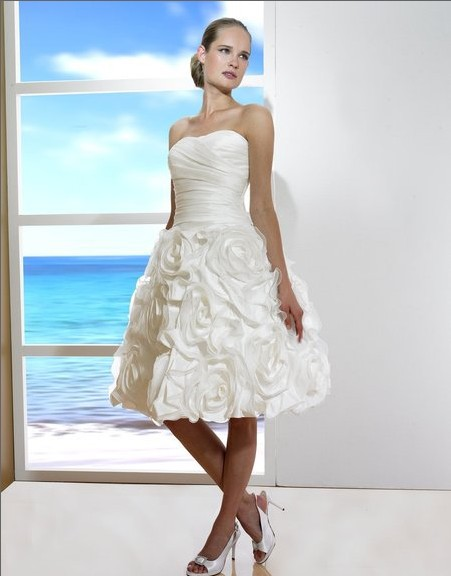 2018 sexy Taffeta Organza Knee length A line sweetheart open back lace up curved basque waist bridal gown bridesmaid dresses in Bridesmaid Dresses from Weddings Events