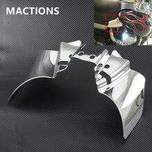 Cromo protector de silla de montar de calor Deflector para Harley Dyna FXD FXDWG 1999 2016, 2000 01 02 03 06 07 04 05 08 09 2010, 2012, 2013, 2014, 2015