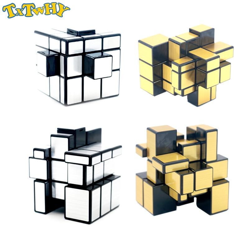 Magic Cube Third-order Mirror Shaped Children Creative Puzzle Maze Toy Adult Decompression Anti-pressure Artifact Toys