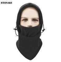 ICESNAKE  pasamontañas de lana para exteriores  máscara facial para motocicleta  gorro de invierno para esquiar  motonieve  senderismo  bajo el casco  máscara para correr  gorro  gorro