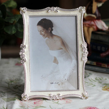цена на 6 7 8 10inch diamond metal photo frame photo frame for gift swing sets gift decoration