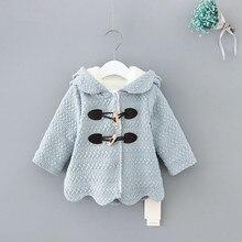Winter Hooded Children Clothes Girls Jackets Cardigan Baby k