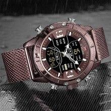 Men Luxury Brand Stainless Steel Sports watch