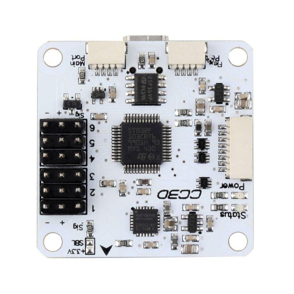 Hot! OpenPilot CC3D Flight Controller Staight Pin STM32 32-bit Flexiport New Sale