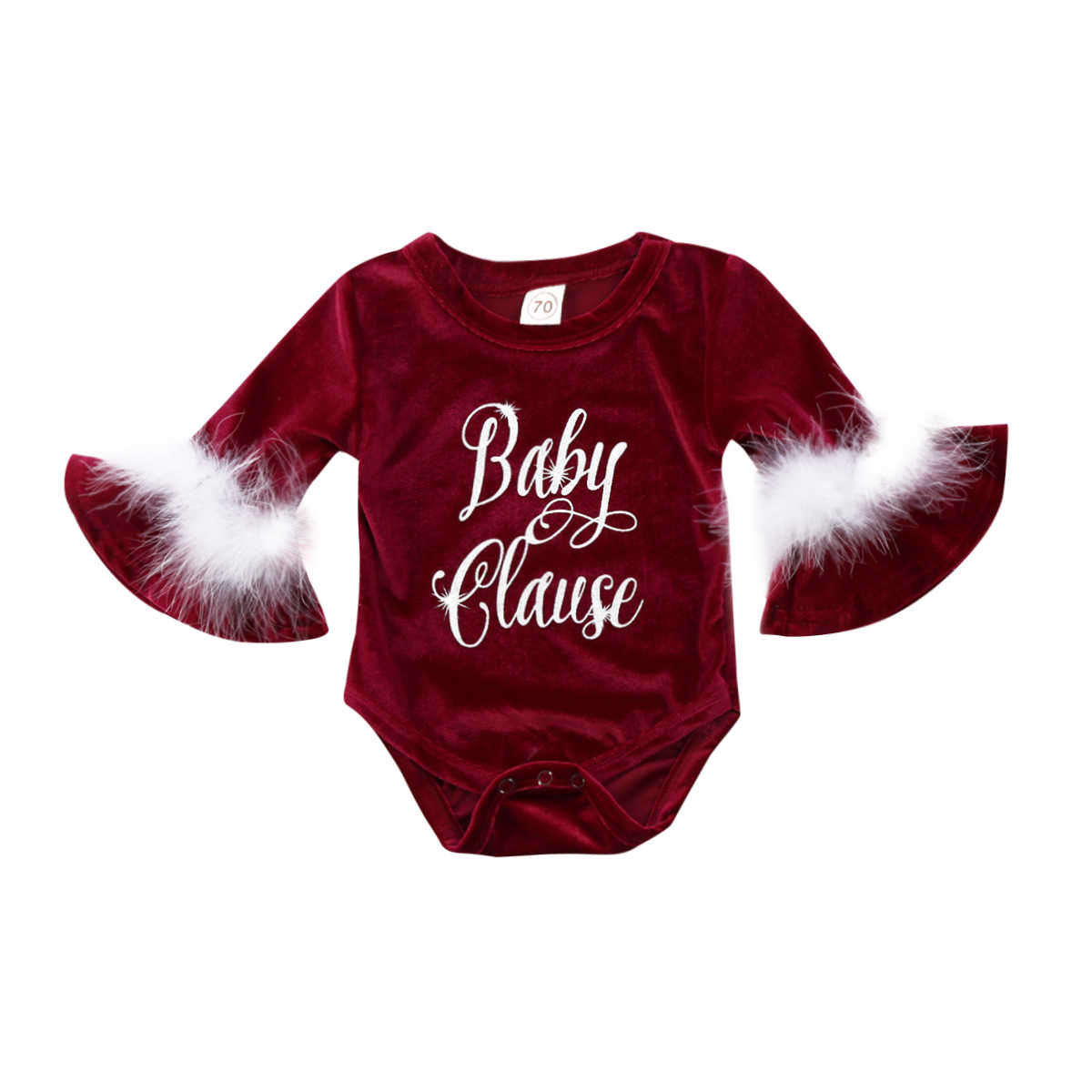 8b3246784 Detail Feedback Questions about Baby Rompers Cute Santa Baby Claus ...