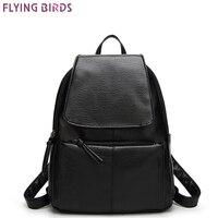 FLYING BIRDS Fashion Mochila Women Backpack Leather Backpacks School Bags Female Travel Bag High Quality Casual