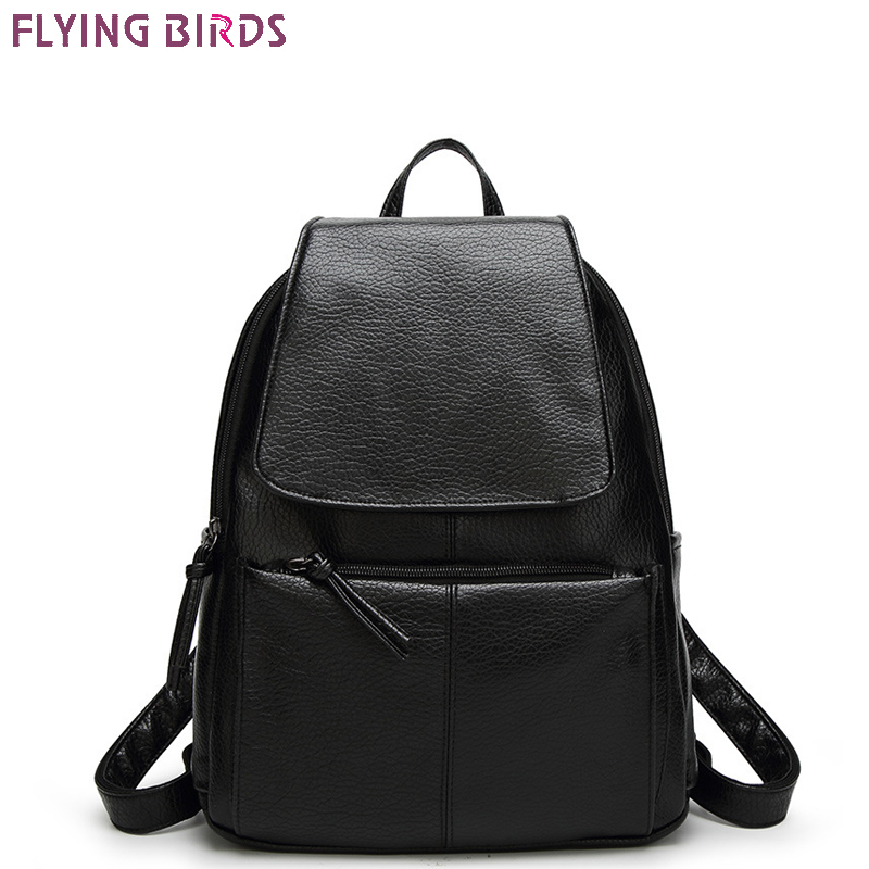 FLYING BIRDS fashion Mochila women backpack leather backpacks school bags female travel bag high quality casual bag new gravity falls backpack casual backpacks teenagers school bag men women s student school bags travel shoulder bag laptop bags