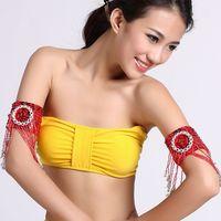 belly dance arm ornaments chain belly dance Bracelet Egypt Indian dance accessories multi color