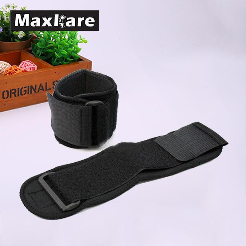 Maxkare Universal Men Adjustable Tool Sports Wristband Wrist Brace Wrap Bandage Gym Strap Hand Sport Tool