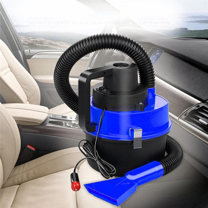 New Arrival Hot 12V Wet Dry Car Vacuum Cleaner Portable Handheld Van Cigarette Lighter 170926