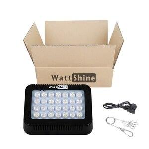 Image 4 - Fish & Aquatic Supplies Lightings luces de acuario de 140W, iluminación de arrecife led, lámpara de atenuación, luces de Coral para pecera de poco ruido