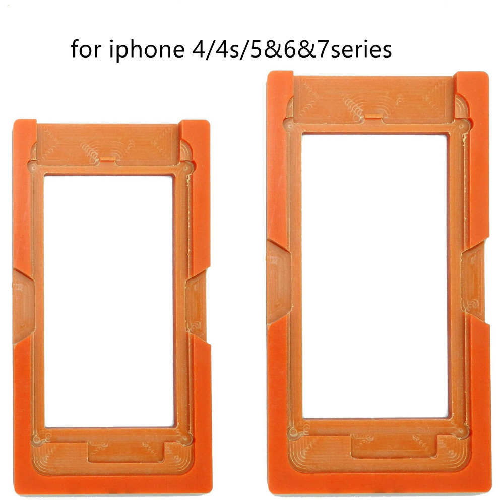 For iPhone 4 4s 5 5c 5s 6 6p 7 7p LCD Mold Screen Glass Display