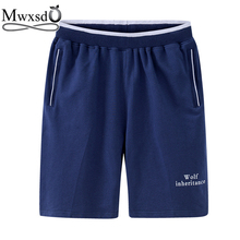 Mwxsd brand Casual Mens Cotton Shorts summer men